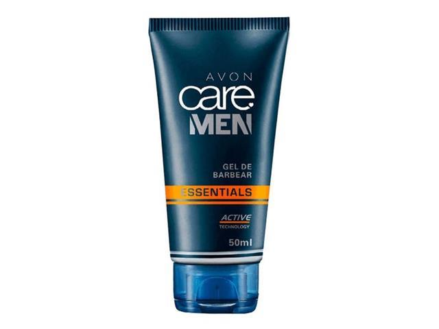 Combo Avon Care Men Essentials Gel de Barbear e Pós Barba - 1