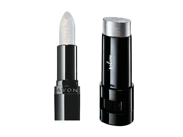 Combo Avon Mark. Batom Transform e Bastão Iluminador Diamante Star