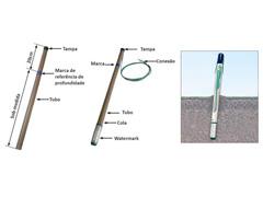 Sensor de Umidade do Solo Watermark com Cabo de 5 Metros - 1