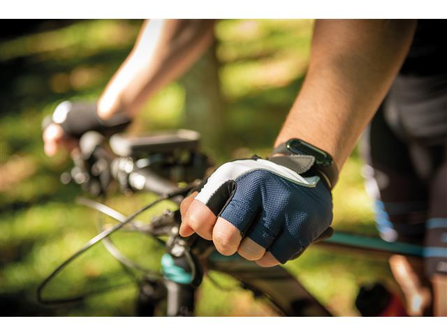 Luva para Ciclismo Tramontina Tricolor Tamanho P - 1