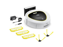 Robô Aspirador Karcher RC 3 Premium Branco Bivolt - 0