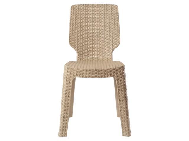 Cadeira Keter T Chair Cappuccino - 1