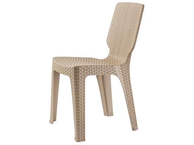 Cadeira Keter T Chair Cappuccino