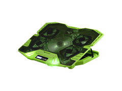 Cooler Gamer para Notebook Multilaser Warrior AC292 com Led Verde