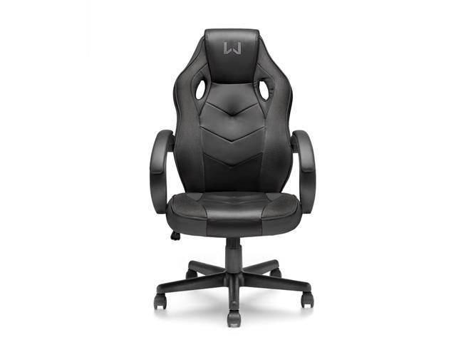 Cadeira Gamer Warrior com Função Basculante Suporta até 120Kg Preta - 1