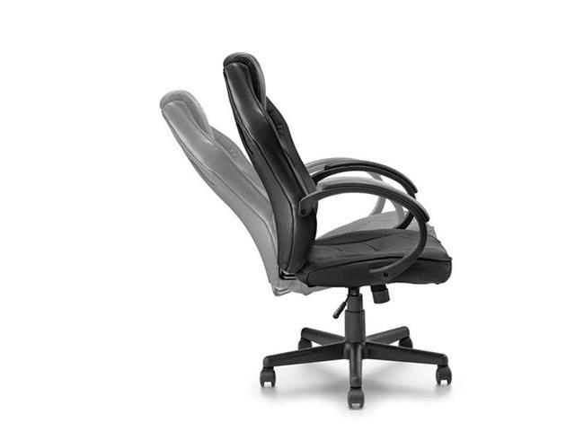 Cadeira Gamer Warrior com Função Basculante Suporta até 120Kg Preta - 4