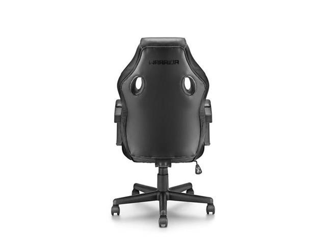 Cadeira Gamer Warrior com Função Basculante Suporta até 120Kg Preta - 2