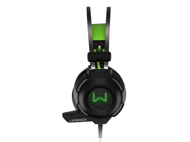 Headset Gamer Multilaser Warrior Swan PH225 USB + P2 Stereo Verde - 1
