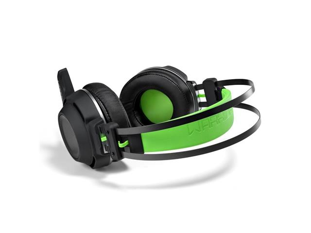 Headset Gamer Multilaser Warrior Swan PH225 USB + P2 Stereo Verde - 2