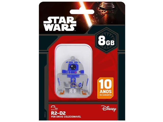 Pen Drive Multilaser PD036 R2D2 USB 8GB - 1