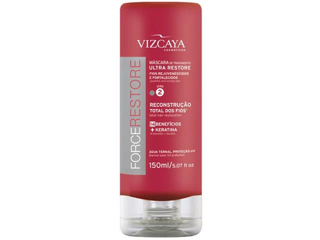 Máscara de Tratamento Vizcaya Force Restore 150ml - 0