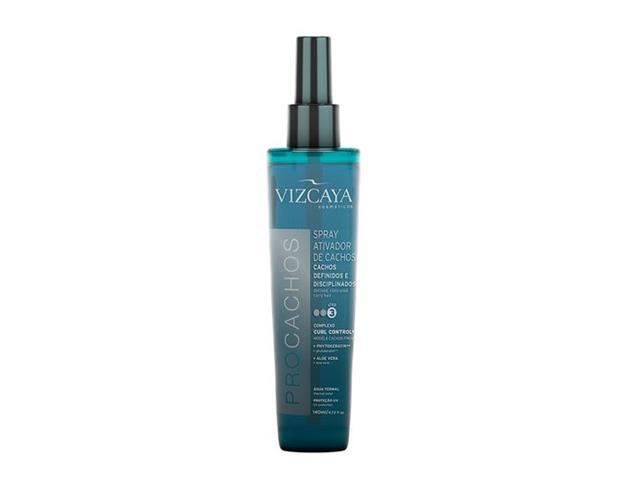 Spray Ativador de Cachos Vizcaya ProCacho 140ml