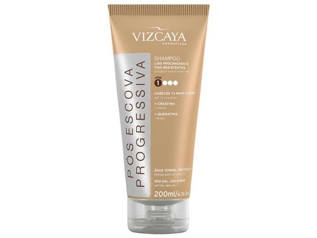 Shampoo Vizcaya Pós Escova Progressiva 200ml