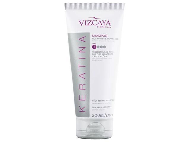 Shampoo Reconstrutor Vizcaya Keratina 200ml