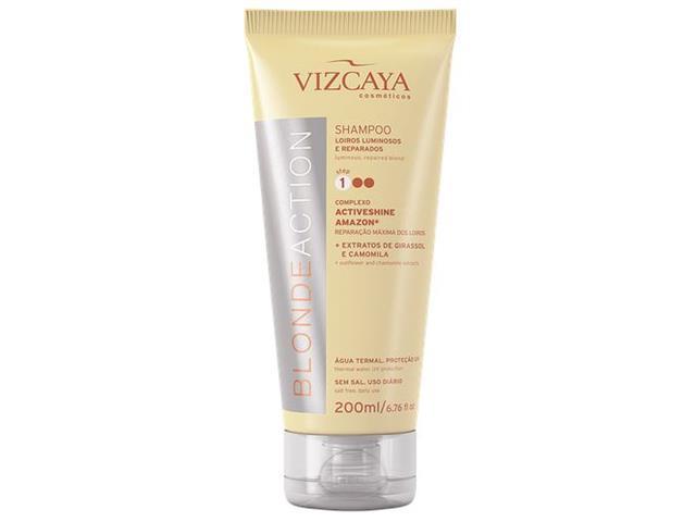 Shampoo Reparador Vizcaya Blonde Action Perfomace 200ml