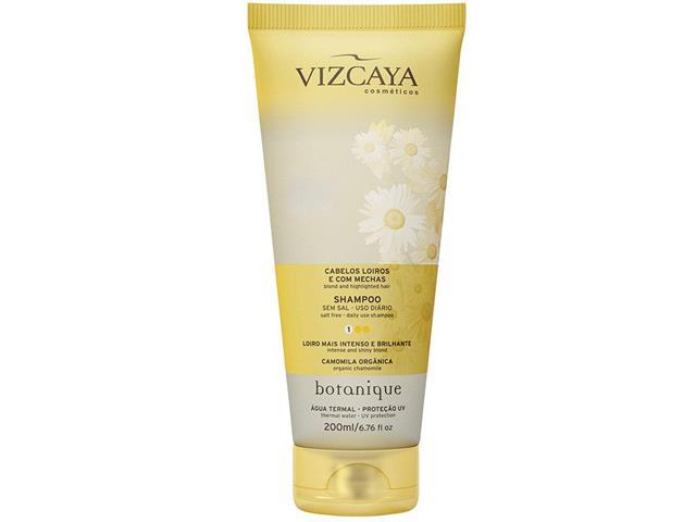 Shampoo Vizcaya Botanique Cabelos Loiros com Mechas 200ml