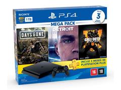 Console PlayStation Hits Bundle 1 TB com 3 Jogos