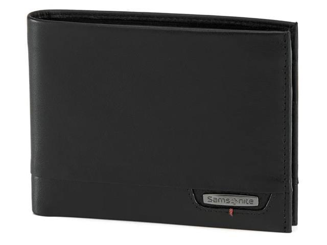 Carteira Samsonite Pro DLX 4S SGL Dupla para 8 Cartões Preta - 1