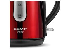 Chaleira Elétrica Semp Toshiba Hype Cherry 1,7 Litros 1200W - 3