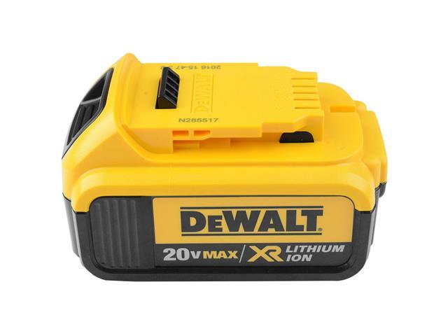 """Parafusadeira de Impacto DeWalt 1/4"""" com 2 Baterias 20V 4Ah - 4"""