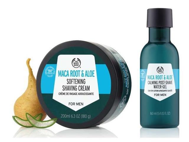 Combo Masculino The Body Shop Maca Root e Aloe Vera