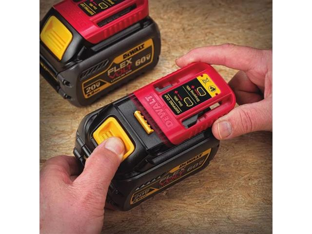 Bateria DeWalt 20V / 60V Flexvolt Li-Ion 6,0Ah com Indicação a LED - 7