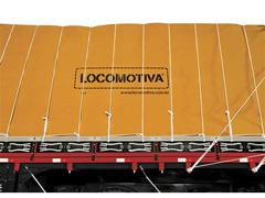 Lona de Cobertura para Cargas Locomotiva Encerado 08 Caqui 12x8M - 4