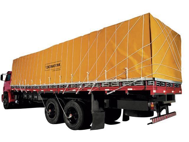 Lona de Cobertura para Cargas Locomotiva Encerado 08 Caqui 12x8M