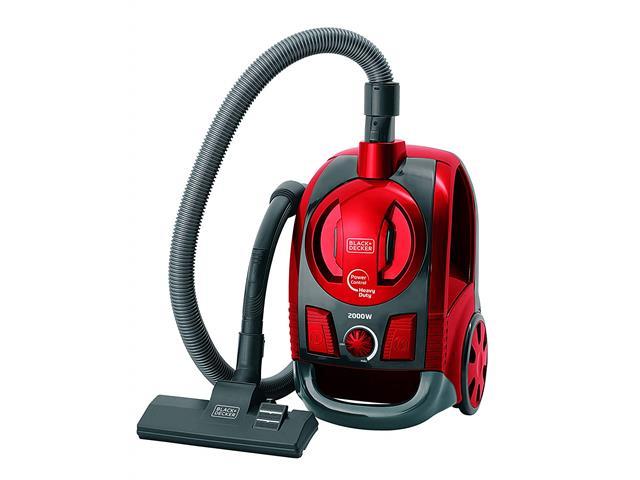 Aspirador de Pó Black&Decker Ciclônico Vermelho 2000W
