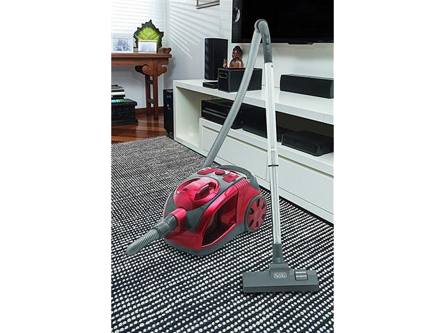 Aspirador de Pó Black&Decker Ciclônico Vermelho 2000W - 4