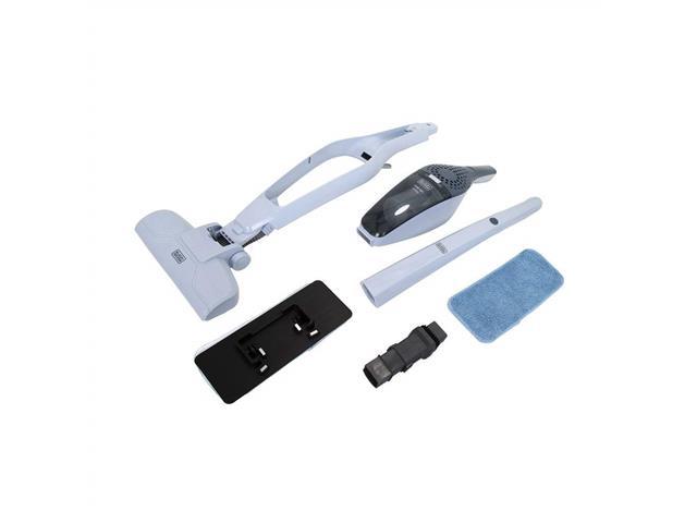Aspirador de Pó Vertical Black&Decker com Função Mop