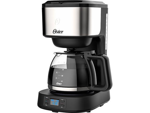 Cafeteira Digital Oster Day Light OCAF500 Preta 800W