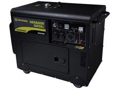 Gerador de Energia à Diesel Matsuyama 6500 PE Monofásico 110V / 220V - 0