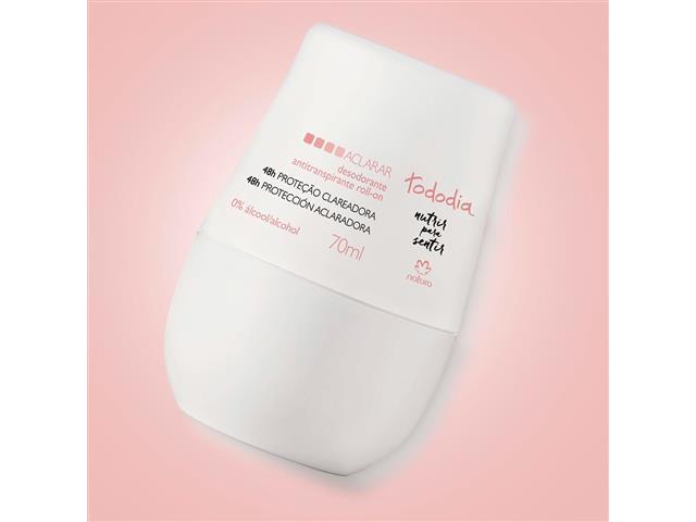 Desodorante Roll-on Natura TodoDia Aclarar Antitranspirante 70ml - 2