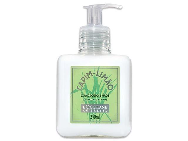 Loção Desodorante Mãos e Corpo Capim Limão L'Occitane au Brésil 250ml