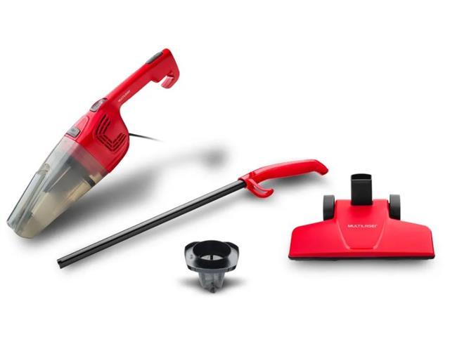 Aspirador Vertical Multilaser Vermelho 1000W 110V