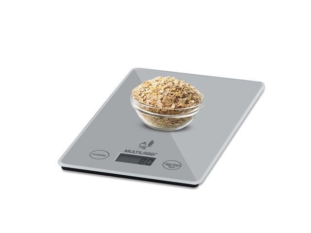 Balança Eletrônica de Cozinha Multilaser Tela LCD Touch Capacidade 5Kg - 1