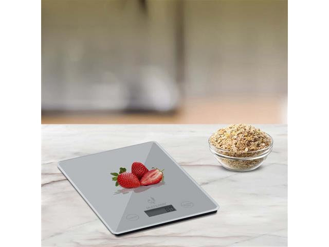 Balança Eletrônica de Cozinha Multilaser Tela LCD Touch Capacidade 5Kg - 2