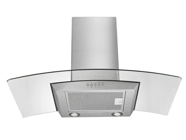 Coifa de Vidro Multilaser 2 Lâmpadas LED para 6 Bocas 90cm 234W 110V - 1