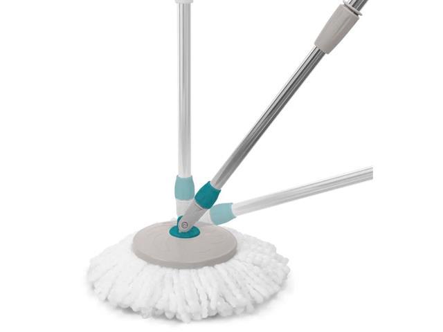 Vassoura Multilaser Mop Giratória para Uso Diversos Pisos com Refil - 1