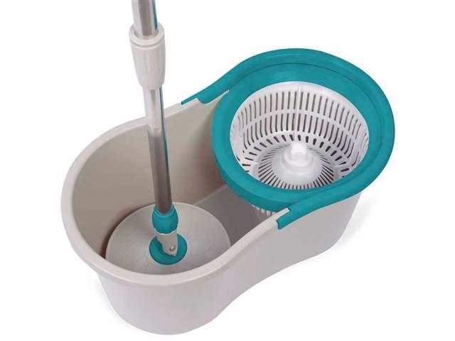 Vassoura Multilaser Mop Giratória para Uso Diversos Pisos com Refil - 2