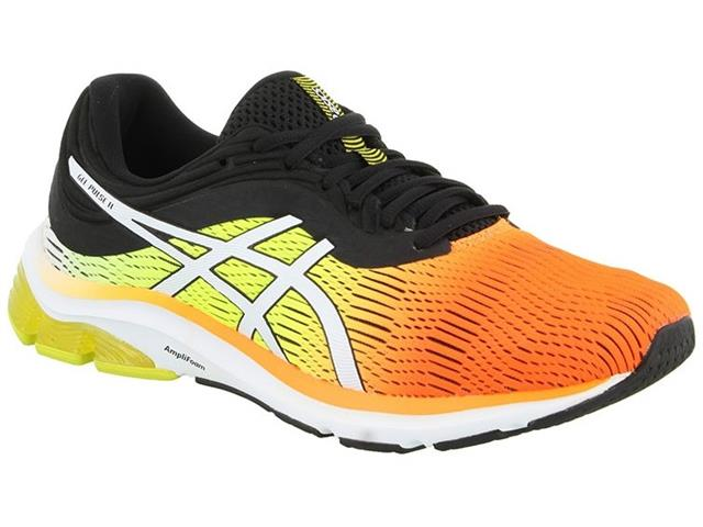 Tênis Asics Gel-Pulse 11 Shocking Orange/Black Arise Masculino
