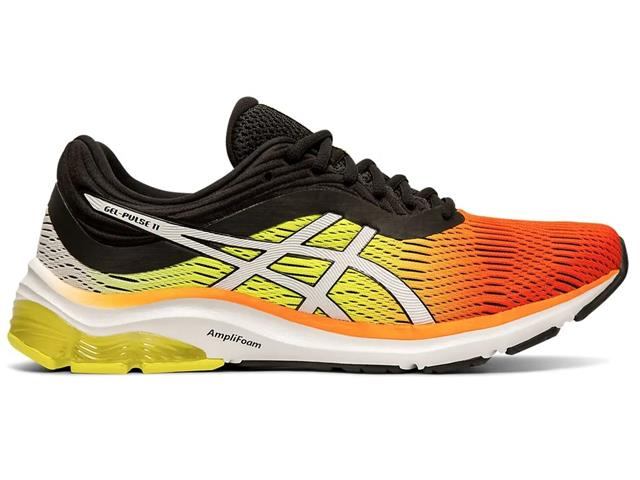 Tênis Asics Gel-Pulse 11 Shocking Orange/Black Arise Masculino - 1