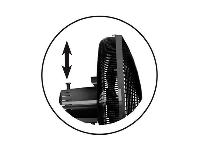 Ventilador de Mesa Mondial Premium Preto 6 Pás 30CM - 1