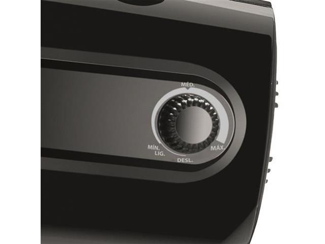 Ventilador de Mesa Mondial turbo Pro 55 Preto 5 Pás - 3