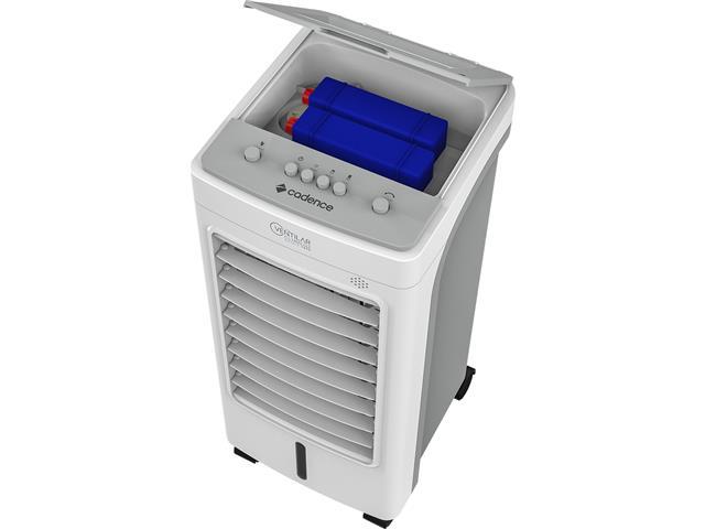 Climatizador de Ar Cadence Climatize Double Tank Branco 60W - 5