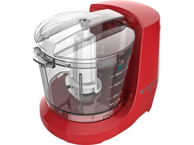 Miniprocessador de Alimentos Cadence Easy Cut Vermelho 100W - 1