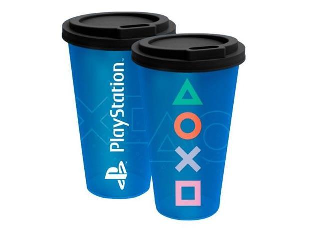 Copo Fun Kathavento Azul Playstation 550ML