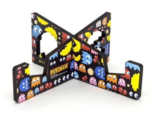 Suporte Tablet ou Celular Kathavento Pac-Man Preto - 1