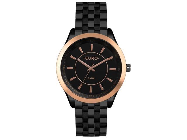 Relógio Euro Feminino Cronógrafo Color Slim Preto EU2035YOW/4P